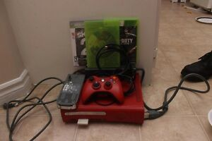 Xbox 360 Red with extra HDD & 3 games