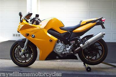 YELLOW BELLY PAN SPOILER LOWER SIDE FAIRINGS BMW F800S F800ST 05 - 12 245000E