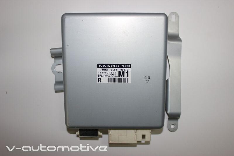 2012 LEXUS CT 200H / RHD EPS ELECTRIC POWER STEERING CONTROL MODULE 89650-76020
