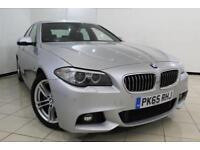 2015 65 BMW 5 SERIES 2.0 520D M SPORT 4DR AUTOMATIC 188 BHP DIESEL