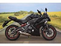 Kawasaki ER6F ECF **Fantastic Condition, Datatool heated Grips, HPI Clear**