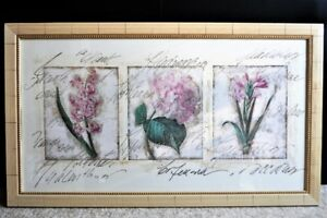 "FRAMED ART PIECE- ""RUSTIC BOTANICALS"""