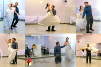 dancing lessons - wedding - first - bridal