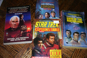 Star Trek Novels, Science Fiction Books