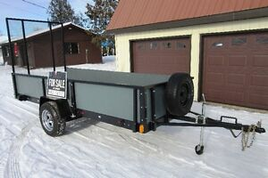 * * * UTILITY RAMP TRAILER * * * REDUCED PRICE* * *