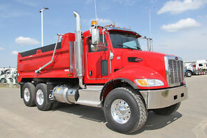 2016 Peterbilt 348 Tandem Dump Truck