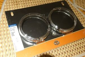 Harley Davidson Passing Lamp Trim Rings