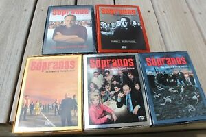 ".5 SEASONS OF ""SOPRANOS""   ONLY $60.00 COMPLETE"