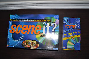 "Nearly New MOVIE TRIVIA DVD format game ""Scene It""+ booster pack Oakville / Halton Region Toronto (GTA) image 1"