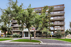 Bright 4.1/2 condo in Town of Mont Royal, available on 15 Aug