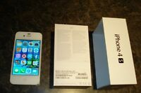 PRISTINE IPHONE 4S WHITE 16G