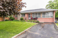 3 Bedroom Bungalow for rent  close to Main and Ontario St.