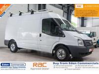 2013 62 FORD TRANSIT 2.2 280 99 BHP DIESEL PANEL VAN WHITE