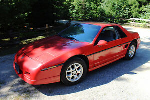 1985 Fiero GT V6, 4 speed manual - Price reduced