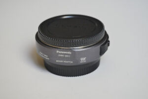 PANASONIC LUMIX auto adapter DMW-MA1 from 4/3 lens to MFT