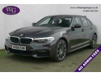 2018 68 BMW 5 SERIES 2.0 530E M SPORT 4D 249 BHP
