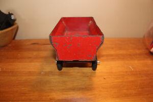 Vintage Tin Toy Farm Wagon - Massey Ferguson London Ontario image 2