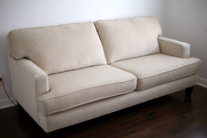 Selling spare couch, purchased from Leon's - pick up only