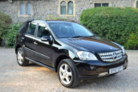 Mercedes-Benz ML280 3.0 CDI auto Sport, 82K MILES, FULL S/HIST, MAY MOT, 3 OWNER