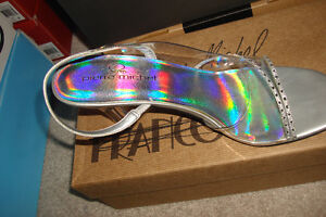 Silver Clear Heels London Ontario image 3