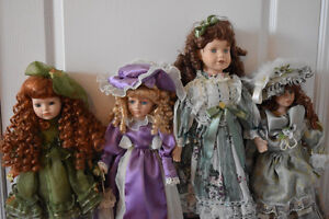 Beautiful Porcelain Dolls- 9 Dolls Total and Various Sizes Oakville / Halton Region Toronto (GTA) image 4
