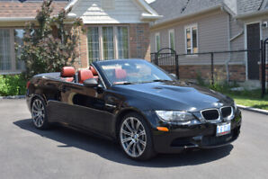 2011 BMW M3 E93 Black/Red Convertible | Executive Package