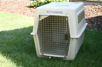 Large dog crate good used condtion