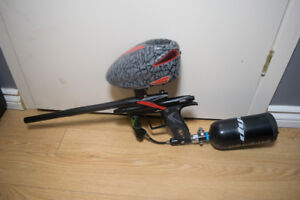 Paintball Gear - Etek 4 AM  - Dye Rotor - And much more