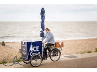 Traditional Pashley ice cream tricycle - Kent & East Sussex