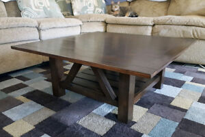 Custom Made Square Coffee Table