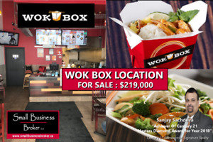 Wok Box Location For Sale