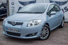 2009 TOYOTA AURIS 1.6 TR AUTOMATIC PADDLESHIFT FULL SERVICE HISTORY REAR PARKI