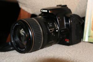 Canon Rebel XTi (boitier) avec lentille 17-85mm West Island Greater Montréal image 2