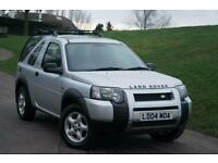 2004 Land Rover Freelander 2.0 Td4 SE Hardback 3dr 3 door Estate