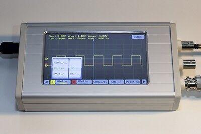 Uce-dso290 4.3 Tft Digital Oscilloscope 112.5msps 20mhz