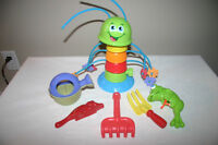Sprinkler with some outdoor toys included
