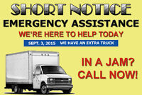 """""""CAUGHT SHORT"""" WE HAVE A TRUCK AVAILABLE TODAY! Sept. 3rd"""
