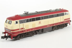 HO model trains, Diesel loco type BR 218 217-8, made in Italy
