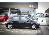 2014 14 PEUGEOT 208 1.4 HDi Active 5dr in Black