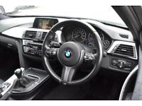 2015 15 BMW 3 SERIES 2.0 320D M SPORT TOURING 5D-1 OWNER-FACELIFT MODEL-BLACK DA