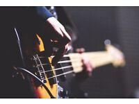 bass player seeks function/wedding band
