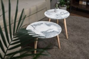 Marble Cement Coffee Table