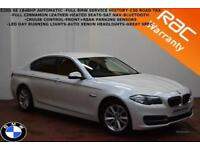 2014 BMW 520 2.0TD(184bhp)Auto SE-HEATED LEATHER-SAT NAV-FULL BMW S/H-1 X OWNER