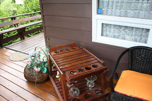 Beautiful Golden Teak Butterfly Table, Bar and Coffee Table