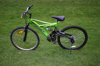 "aluminum body 26"" tire size mountain bike super cycle"
