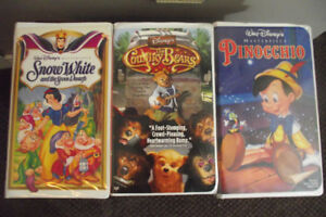 CLASSIC WALT DISNEY VHS MOVIES