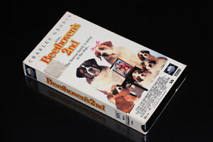 VHS-BEETHOVEN'S 2ND-FILM/MOVIE