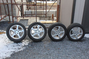 Continental tires and RTX rims for sale