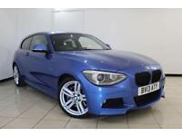 2013 13 BMW 1 SERIES 2.0 120D M SPORT 3DR AUTOMATIC 181 BHP DIESEL