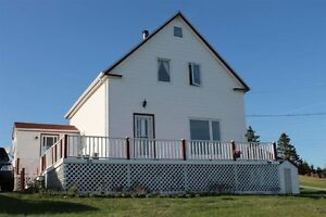 Amazing Ocean View! - 3 bedroom 1.5 storey home with waterfront